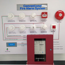 Conventional Fire Alarm Control Panel with 16 Zones 消防報警主機